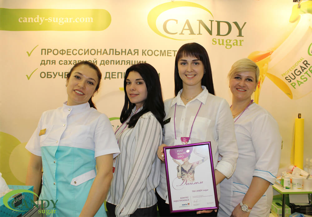Удачная поездка CANDY sugar на Estet Beauty Expo 2018 в г. Киев!-last